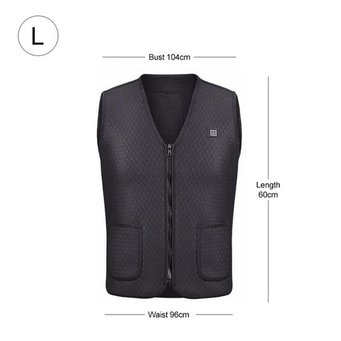 Large Electric Heating Vest