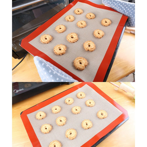 Silicone Baking Mat Cookies