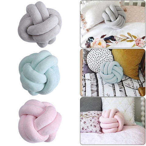 Infinity Knot Pillows