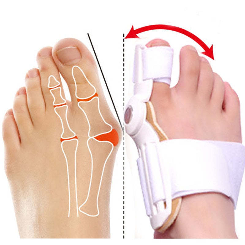 Big Toe Joint Seperator Treatment Spacers