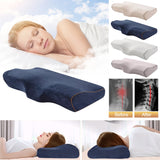 Comfort Neck Pillow Memory Foam for Sleep, Pain Relief, Firm Cervical Support, Orthopedic