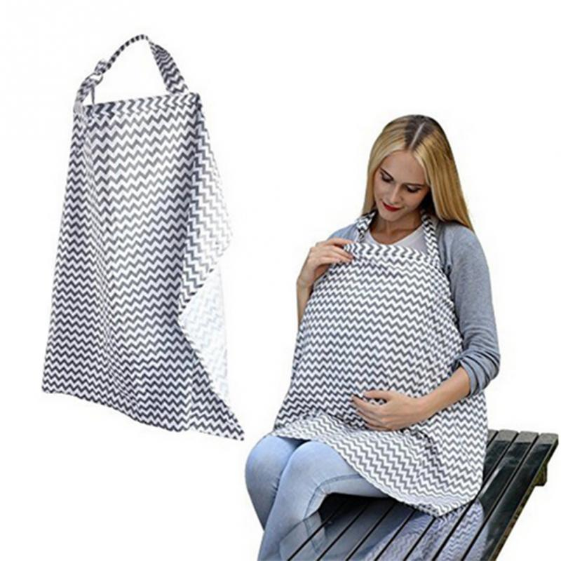 New Mother™ Breastfeeding / Nursing Baby Maternity Cover (Outdoor Baby Shawl Apron for Private Discrete Feeding)