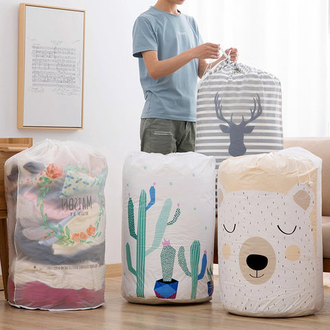 Home Sweet Home™ Foldable Storage Bag Organizer for Clothes, Toys, Housekeeping, Blankets, Linens, Towels, Pillows