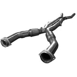 "Kooks Headers & Exhaust - 2009-2014 CADILLAC CTS-V 3"" X OEM CATTED X-PIPE"