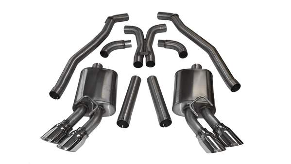 Corsa Performance 2012-2015 Chevrolet Camaro ZL1 (Coupe) & 10-15 SS 1 LE Coupe, 6.2L V8, 3.0