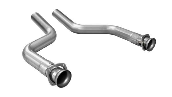 "Corsa Performance 2016-18 Chevrolet Camaro  6.2L V8, 3.0"" Catless Long Tube Headers Connection Pipes Part Number (16027)"