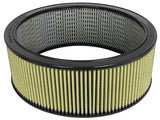 AFE: Round Racing Air Filter w/Pro GUARD7 Filter Media 17.13 OD x 14.50 ID x 6 HT w/EM
