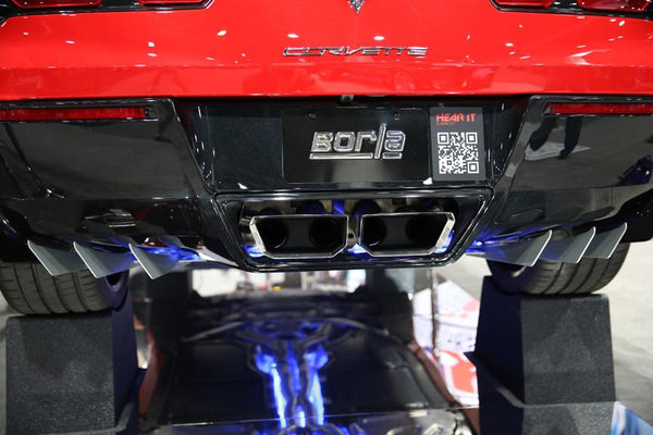Borla: Exhaust  [C7 Corvette, LT1]