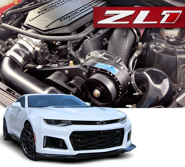 Procharger: F-1A-94, F-1X Air to Water Intercooler Kits  [Camaro gen 6 ZL1, LT4]