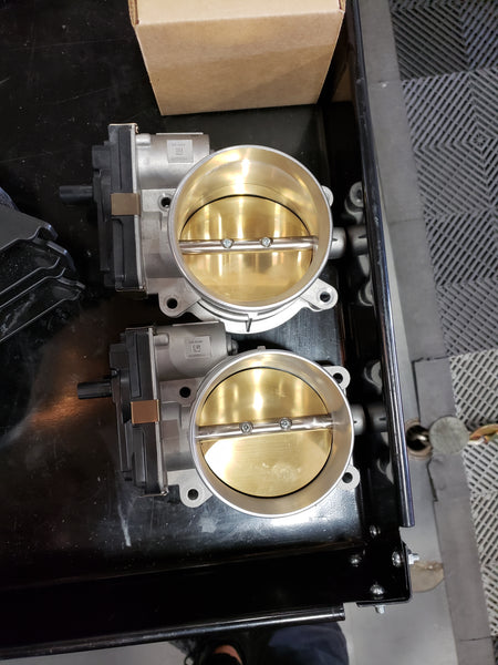 GM: LT5 Throttle Body with Adapter  [Camaro Corvette CTS V, LT1 LT4 LT5]