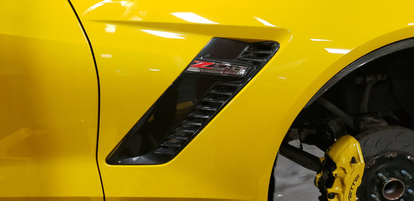 WEAPON-X: Fender Vents - Carbon Fiber  [C7 Corvette GS Z06]