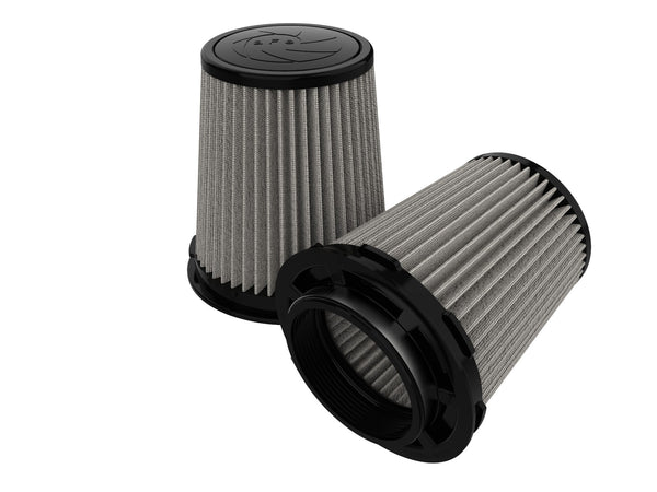 AFE: Magnum FLOW Pro DRY S Air Filters (Pair) 4 F x 6 B mt2 x 4-3/4 T x 7 H in