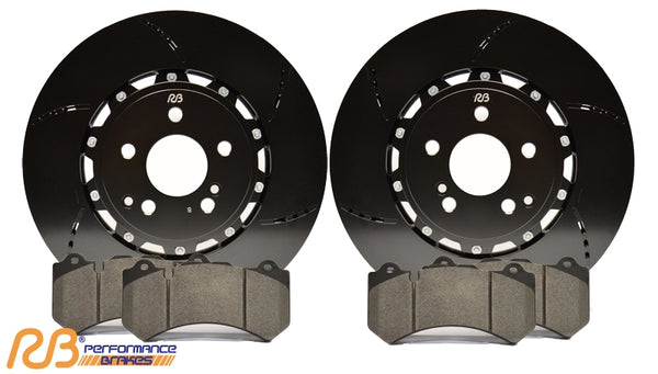 Racing Brake: Rotors (2pc) & Pads [CTS V gen 2, Camaro ZL1 gen 5]