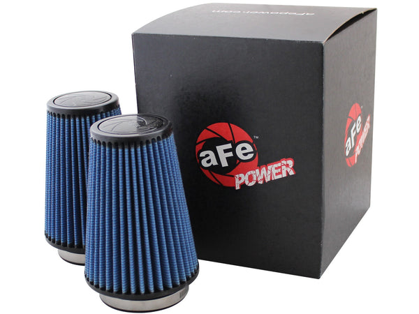 AFE: Magnum FLOW Pro 5R Air Filter F-150 EcoBoost Stage-2 Replacement Air Filters (1pr)