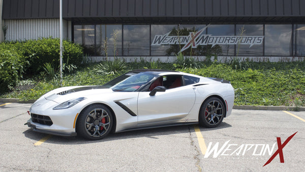 WEAPON-X: FASTx5 Wheels  [C7 Corvette Stingray Z51, LT1]
