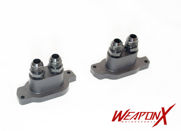 WEAPON-X: LF4 Cooling Manifold Adapters  [ATS V, LF4]