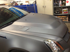 V Power hood (with extractor vents) - Fiberglass