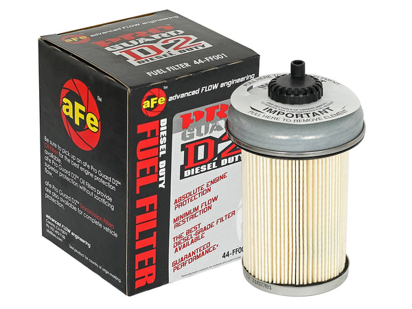 AFE: Pro GUARD D2 Fuel Filter GM Diesel Trucks 92-00 V8-6.2L/6.5L (td)
