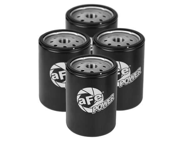 AFE: Pro GUARD HD Oil Filter (4-Pack) GM Diesel Trucks 01-19 V8-6.6L (td) LLY/LBZ/LMM/LML/L5P