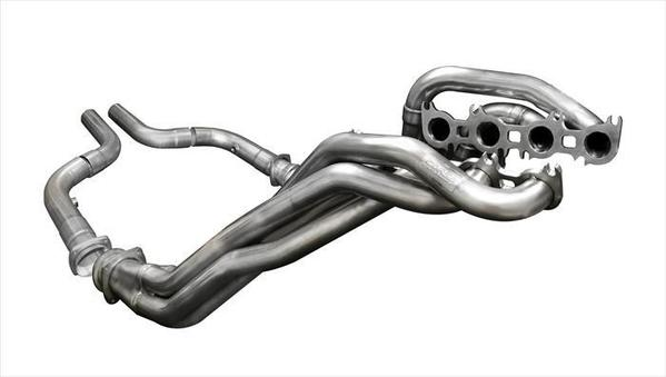 Corsa Performance 2018-2019 Ford Mustang GT Long Tube Headers 1.875