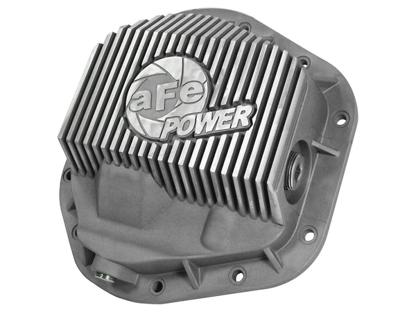 AFE: Street Series Front Differential Cover - Raw Finish Ford F-250/F-350/Excursion 99-16 V8-7.3L/6.0L/6.4L/6.7L (td) (Dana 50 / Dana 60 / Dana 61 Axles)