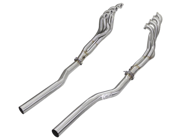 AFE: Twisted Steel Tri-Y Long Tube Header & Connection Pipes (Race Series) Cadillac CTS-V 09-15 V8-6.2L (sc)