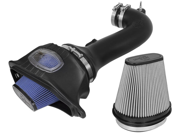 AFE: Momentum Cold Air Intake System w/Dual Filter Media Chevrolet Corvette Z06 (C7) 15-19 V8-6.2L (sc)