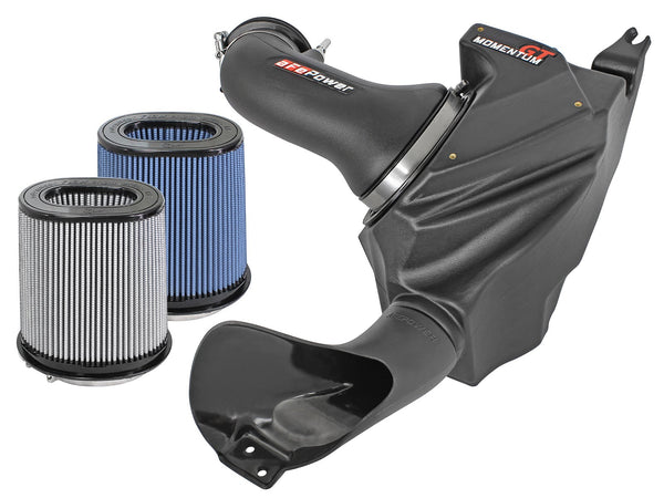 AFE: Momentum GT Cold Air Intake System w/Dual Filter Media Cadillac CTS-V 09-15 V8-6.2L (sc)