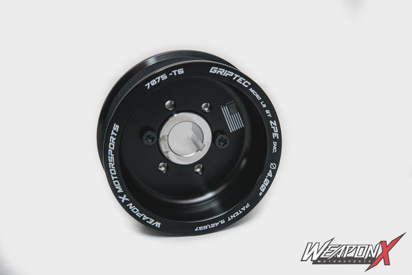 WEAPON-X: Griptec Procharger Pulley  [Camaro6, Corvette C7, LT1 LT4]