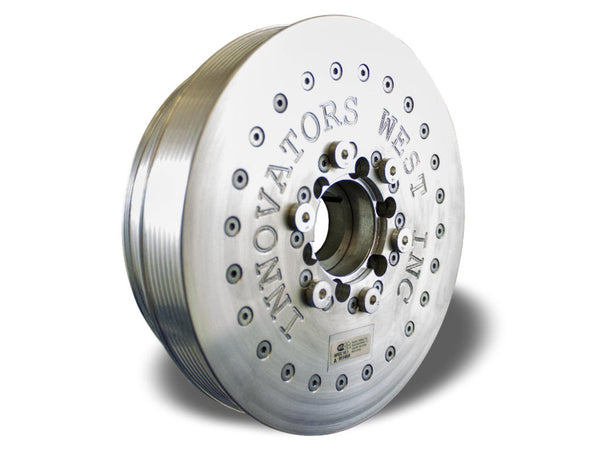 Innovators West: LSX 8-Rib Harmonic Damper for Corvette, Pontiac G8 and CTS-V - 15% Overdrive
