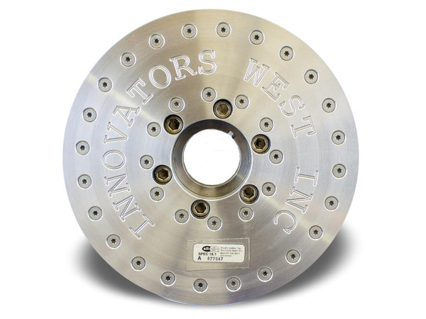 Innovators West: LSX 8-Rib Harmonic Balancer for LS7 Corvette - Standard Diameter