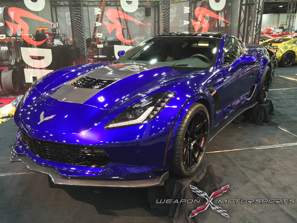 WEAPON-X: WEAPON7 Splitter  [C7 Corvette Stingray, LT1]