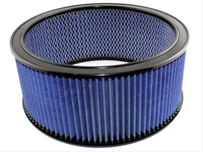AFE: Round Racing Air Filter w/Pro 5R Filter Media 14 OD x 12 ID x 6 H in E/M
