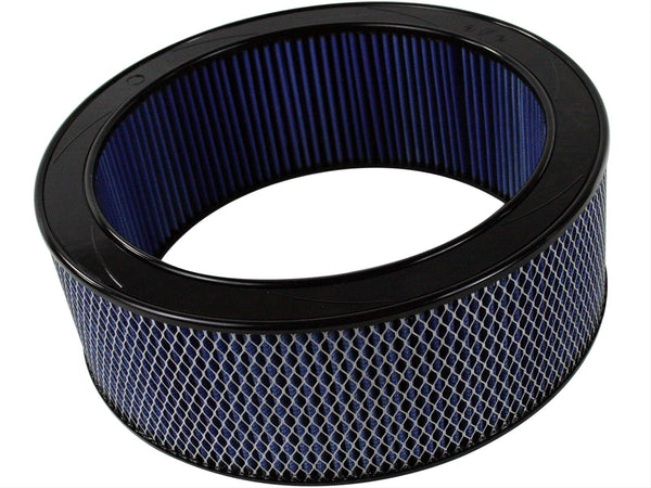 AFE: Round Racing Air Filter w/Pro 5R Filter Media 14 OD x 11 ID x 5 H in E/M