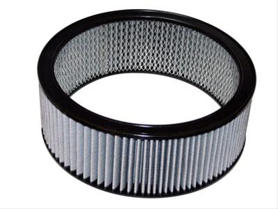 AFE: Round Racing Air Filter w/Pro DRY S Filter Media 14 OD x 12 ID x 3 H in E/M