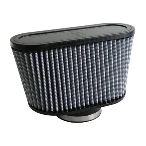 AFE: Magnum FLOW Pro DRY S Air Filter 	 3-3/4 F x (9x5-3/4) B x (11x4) T x 6 H in