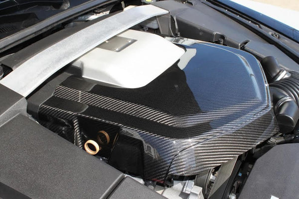 WEAPON-X:  Engine Cover Carbon Fiber  [CTS V gen 2, LSA]