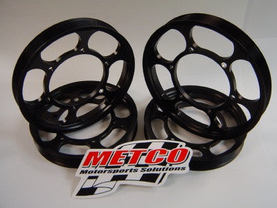 Metco: Lower Crank Pulley Ring  [CTS V, Camaro, LSA LT4]