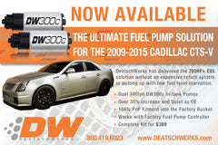 DeatschWerks 800HP Fuel Pumps - Drop in  [CTS V gen 2]
