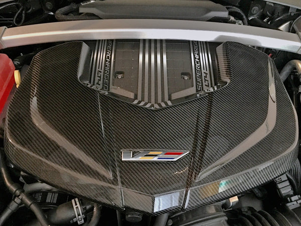 Nowicki: Engine Cover Carbon Fiber  [CTS V gen 3, LT4]