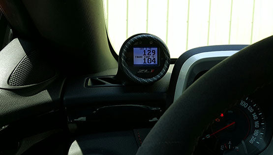 Aeroforce Interceptor Gauge With Factory Style Vent