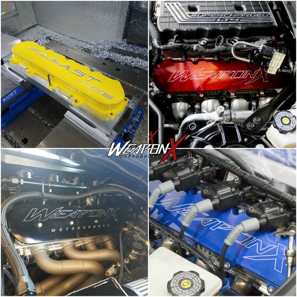WEAPON-X: LT Billet Valve Covers [Camaro Corvette CTS V, LT1 LT4 LT5]