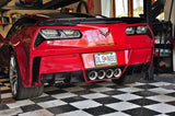 WEAPON-X: Diffuser WEAPON7 Stage 2  [C7 Corvette Grand Sport Z06 ZR1]