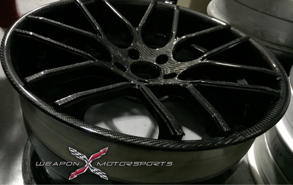 WEAPON-X Forged: MESHx7.C3 Custom Wheels (3 piece Trioblock)