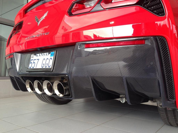WEAPON-X: WEAPON7 Diffuser  [C7 Corvette Stingray Grand Sport Z06 ZR1]