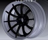 WEAPON-X Forged: SPECx10.C3 Custom Wheels (3 piece Trioblock)