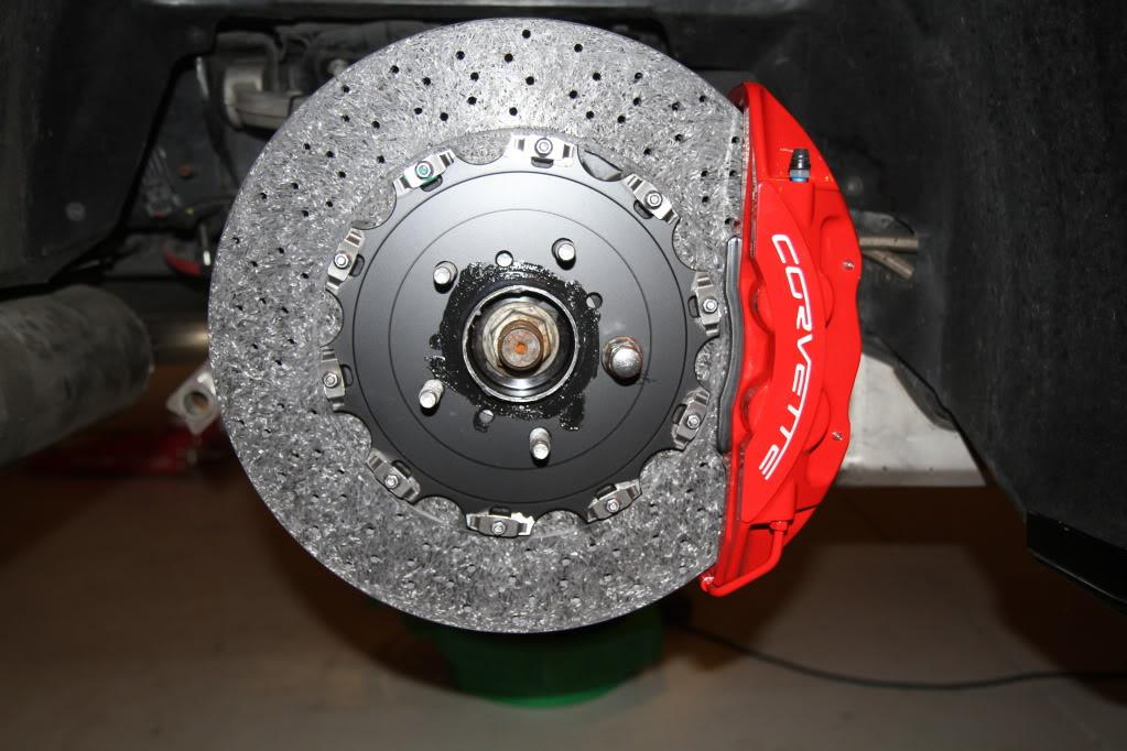 Brembo Carbon Ceramic Brake Kit C7 Corvette Z06 Zr1 Lt1