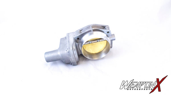 WEAPON-X: LS3 (LS7) 90mm Ported Throttle Body  [Camaro Corvette CTS V]