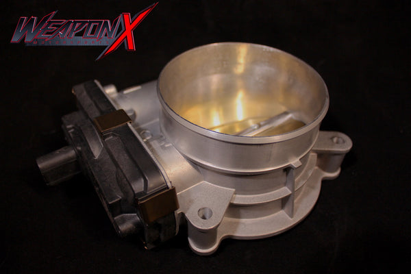 WEAPON-X: LT1 LT4 87mm Ported Throttle Body  [Camaro Corvette CTS V]