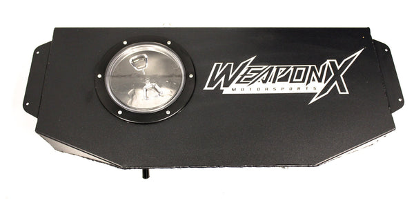 WEAPON-X: Stealth Trunk Cooler Kit  [Camaro SS ZL1 gen 6, CTS V, LT1 LT4]
